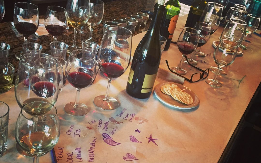 How to throw a sensory wine tasting
