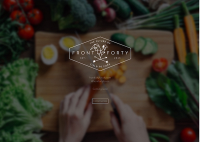 Front Forty Foods Brand And Content Services