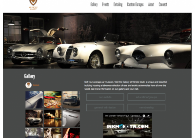 Vehicle Vault Web Content And Admin
